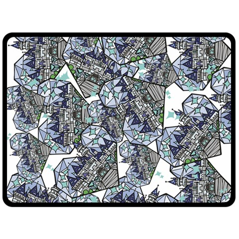Diamond By Rick Garcia   Fleece Blanket (large)   Rka5bx9zbv9h   Www Artscow Com 80 x60  Blanket Front