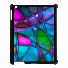 Imposant Abstract Teal Apple Ipad 3/4 Case (black) by ImpressiveMoments