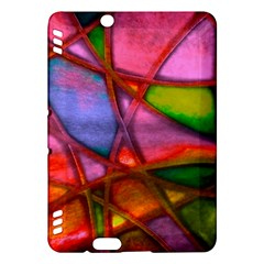 Imposant Abstract Red Kindle Fire Hdx Hardshell Case by ImpressiveMoments
