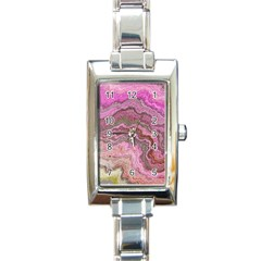 Keep Calm Pink Rectangle Italian Charm Watches by ImpressiveMoments