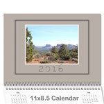 John Coffee and Cream (any Year) 2016 Calendar - Wall Calendar 11  x 8.5  (12-Months)