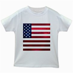 Usa2 Kids White T Shirts by ILoveAmerica