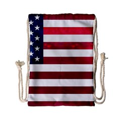 Usa2 Drawstring Bag (small) by ILoveAmerica