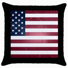 Usa3 Throw Pillow Cases (black) by ILoveAmerica