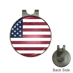 Usa3 Hat Clips With Golf Markers by ILoveAmerica