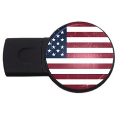 Usa3 Usb Flash Drive Round (4 Gb)  by ILoveAmerica