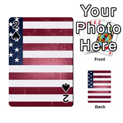 Usa3 Playing Cards 54 Designs