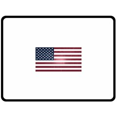 Usa3 Fleece Blanket (large)  by ILoveAmerica