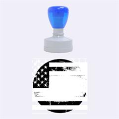 Usa3 Rubber Round Stamps (medium)