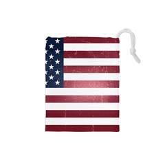 Usa3 Drawstring Pouches (small)  by ILoveAmerica