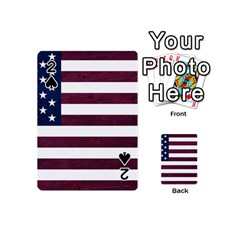 Usa4 Playing Cards 54 (Mini)  by ILoveAmerica