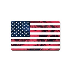 Usa5 Magnet (Name Card) by ILoveAmerica