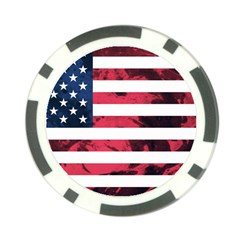 Usa5 Poker Chip Card Guards by ILoveAmerica