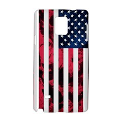 Usa5a Samsung Galaxy Note 4 Hardshell Case by ILoveAmerica