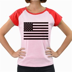 Usa6 Women s Cap Sleeve T Shirt by ILoveAmerica