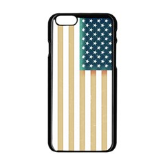 Usa7a Apple Iphone 6/6s Black Enamel Case by ILoveAmerica