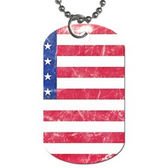 Usa8 Dog Tag (one Side) by ILoveAmerica