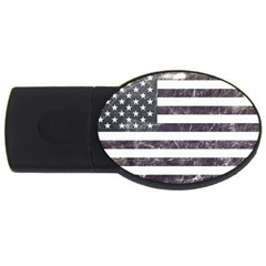 Usa9 Usb Flash Drive Oval (4 Gb)  by ILoveAmerica