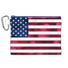 Usa9999 Canvas Cosmetic Bag (xl)  by ILoveAmerica