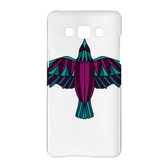 Stained Glass Bird Illustration  Samsung Galaxy A5 Hardshell Case  by carocollins