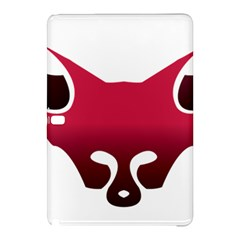 Fox Logo Red Gradient  Samsung Galaxy Tab Pro 10 1 Hardshell Case by carocollins
