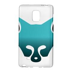 Fox Logo Blue Gradient Galaxy Note Edge