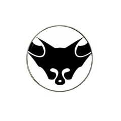 Black Fox Logo Hat Clip Ball Marker (10 pack) by carocollins