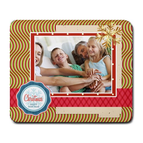 Xmas By Joy 9.25 x7.75  Mousepad - 1