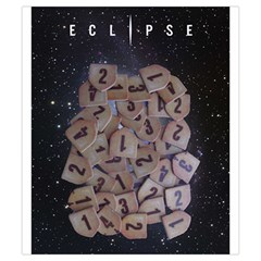 Eclipse By Herbert Harengel   Drawstring Pouch (small)   7e6y0ew5gtif   Www Artscow Com Front