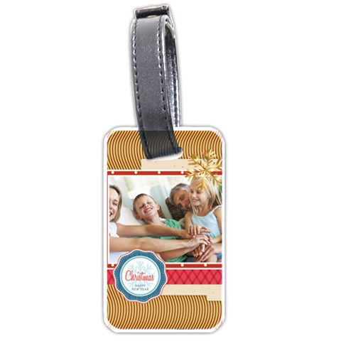 Snow By Joy   Luggage Tag (one Side)   Asv8b2219ksv   Www Artscow Com Front