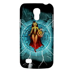 Beautiful Witch With Magical Background Galaxy S4 Mini by FantasyWorld7