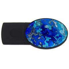 Cocos Blue Lagoon Usb Flash Drive Oval (4 Gb)  by CocosBlue