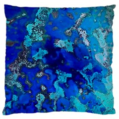 Cocos Blue Lagoon Standard Flano Cushion Cases (one Side)  by CocosBlue