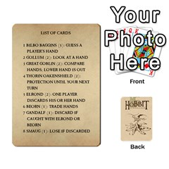 Hobbit Love Letter Retheme 3 Decks By Aaron Lambert   Playing Cards 54 Designs   5edihaa7e3mv   Www Artscow Com Front - Diamond8