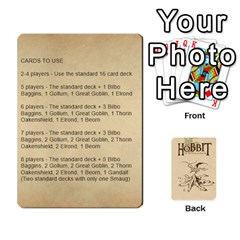 Hobbit Love Letter Retheme 3 Decks By Aaron Lambert   Playing Cards 54 Designs   5edihaa7e3mv   Www Artscow Com Front - Diamond10