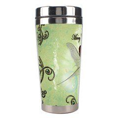 Cute Elf Playing For Christmas Stainless Steel Travel Tumblers by FantasyWorld7