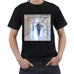 Mens  Sizes S- 3XL - Men s T-Shirt (Black)
