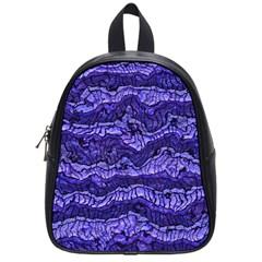 Alien Skin Blue School Bags (small)  by ImpressiveMoments
