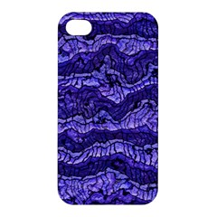Alien Skin Blue Apple Iphone 4/4s Hardshell Case by ImpressiveMoments