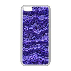 Alien Skin Blue Apple Iphone 5c Seamless Case (white) by ImpressiveMoments