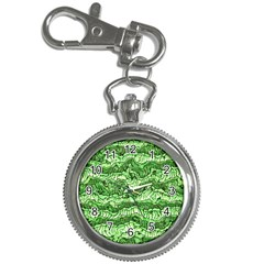 Alien Skin Green Key Chain Watches by ImpressiveMoments