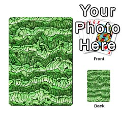 Alien Skin Green Multi Purpose Cards (rectangle)
