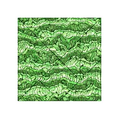 Alien Skin Green Acrylic Tangram Puzzle (4  x 4 ) by ImpressiveMoments