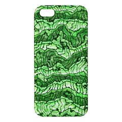 Alien Skin Green iPhone 5S Premium Hardshell Case by ImpressiveMoments
