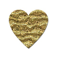 Alien Skin Hot Golden Heart Magnet by ImpressiveMoments