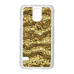 Alien Skin Hot Golden Samsung Galaxy S5 Case (white) by ImpressiveMoments