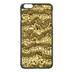 Alien Skin Hot Golden Apple Iphone 6 Plus/6s Plus Black Enamel Case by ImpressiveMoments