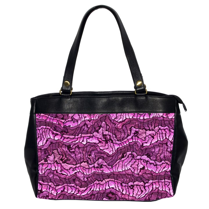 Alien Skin Hot Pink Office Handbags (2 Sides)