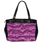 Alien Skin Hot Pink Office Handbags (2 Sides)  Back