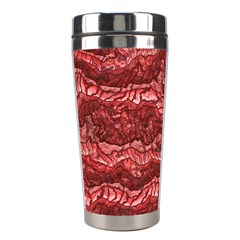 Alien Skin Red Stainless Steel Travel Tumblers by ImpressiveMoments